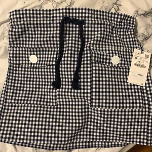 Plaid skirt from Zara